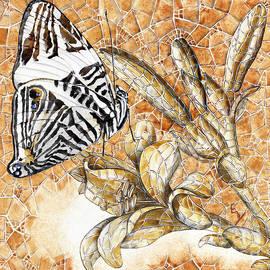 Elena Yakubovich - Butterfly Mosaic 02 Elena Yakubovich