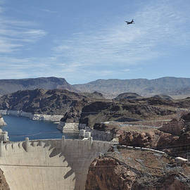 Mark Highfield - C130 over Hoover Dam