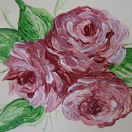 Leslie Manley - Cabbage Roses