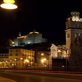 RicardMN Photography - Calahorra Cathedral at night