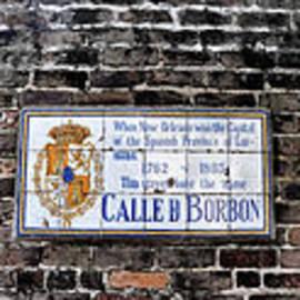 Bill Cannon - Calle D Borbon