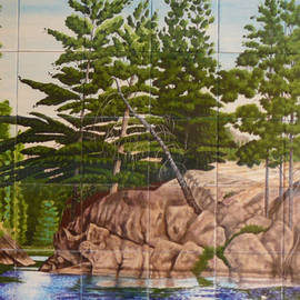 Dy Witt - Canadian Wilderness Mural