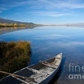 Idaho Scenic Images Linda Lantzy - Canoe at Red Rock