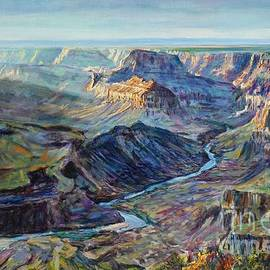 LeRoy Jesfield - Canyon Light at Watchtower