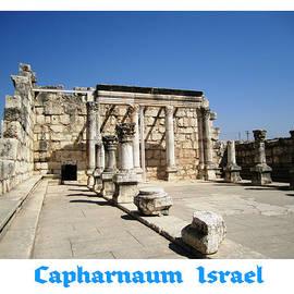 Capharnaum Columns   Israel