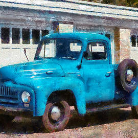 Mike Savad - Car - Truck - An International old truck