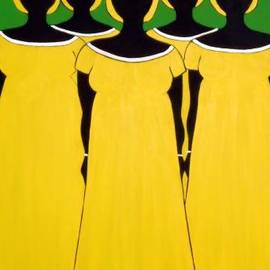 Stephanie Moore - Caribbean Yellow