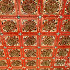 Yali Shi - Carved Temple Ceiling