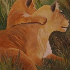 Christy Brammer - Cat Family