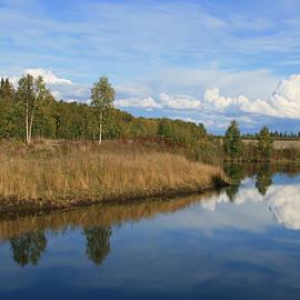 Sharon Mau - Chena River Lakes Alaska North Star
