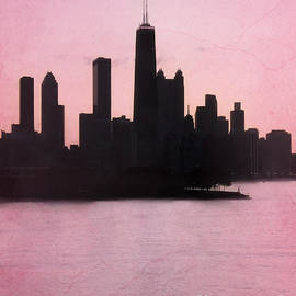 Sophie Vigneault - Chicago Skyline in Pink