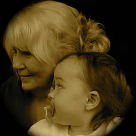 Gordon Taylor - Child and her Grandmother