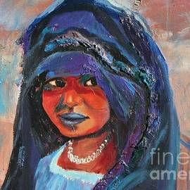 Avonelle Kelsey - Child Bride of the Sahara - Close Up