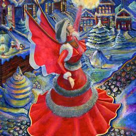 Jacquelin Vanderwood - Christmas Angel in Red Dress