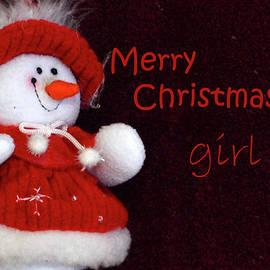 Larry Bishop - Christmas Card - Girl