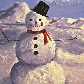 Phyllis Kaltenbach - Christmas Snowman