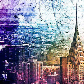 Vivienne Gucwa - Chrysler Building - Colorful - New York City
