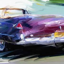 RG McMahon - Classic Cadillac Convertible