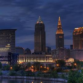 Rick Buzalewski - Cleveland at Sunset