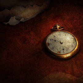 Mike Savad - Clock - Time waits for nothing