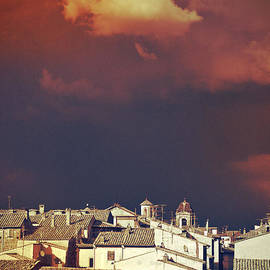 Silvia Ganora - Cloud over Tuscania village II - Italy
