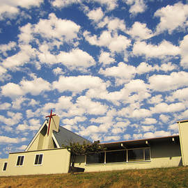 Kym Backland - Clouds Over Church