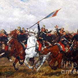 PG REPRODUCTIONS - Color Guard French Dragoons