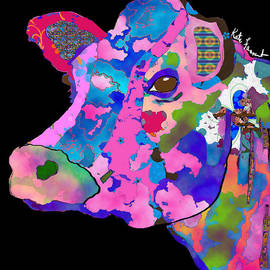 Kate Farrant - Colorful Bessie the Cow