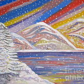 Phyllis Kaltenbach - Colorful Snow