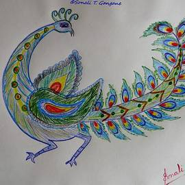 Sonali Gangane - Colourful Bird