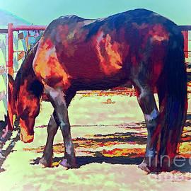 Jerry L Barrett - Corraled Horse