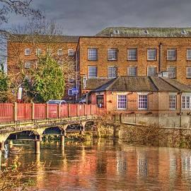 Rod Jones - Cotton mill near Derby