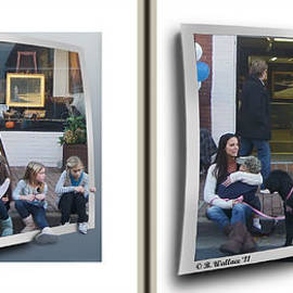 Brian Wallace - Curb Resting - Gently cross your eyes and focus on the middle image