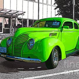 Randy Harris - Custom Green Hot Rod
