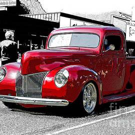 Randy Harris - Custom red Pick up