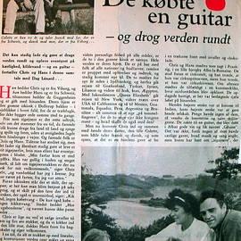 Colette V Hera  Guggenheim  - Danish Article from 1960
