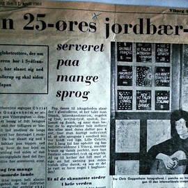 Colette V Hera  Guggenheim  - Danish Article from 1961