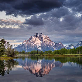Greg Nyquist - Darkening Skies Over Oxbow Bend