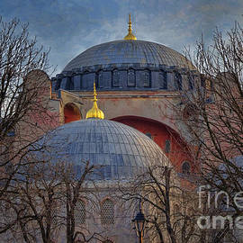 Joan Carroll - Dawn over Hagia Sophia