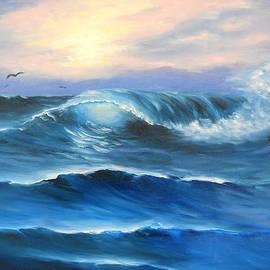 Natascha de la Court - Daybreak at Sea