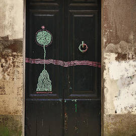 Mary Machare - Decorated Door