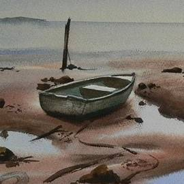 Tony Northover - Dinghy at Low Tide