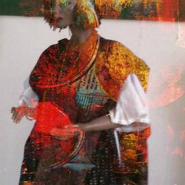 Fania Simon - Doll in Paint