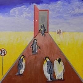 Gilbert Bernhardt - Doorway to Extinction