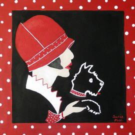 Susan McLean Gray - Dottie with the Scottie 1