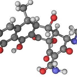 Laguna Design - Doxycycline Antibiotic Molecule