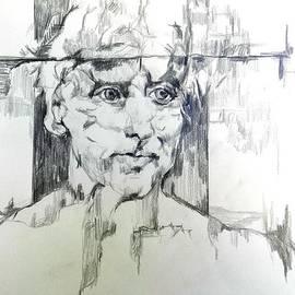 Jolante Hesse - Drawing of a Man