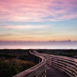Dawna  Moore Photography - Dreamy Sunrise at the Beach