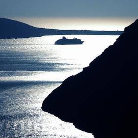 Colette V Hera  Guggenheim  - Early Night Santorini Island Greece