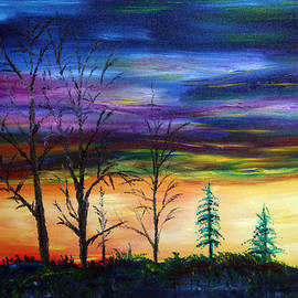 James Bryron Love - Early Winter Sunset